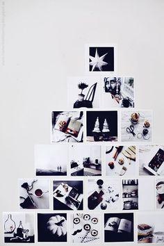 壁デコクリスマスツリー