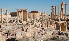 La vida vuelve a las ruinas romanas de Palmira - Arqueología, Historia Antigua y Medieval - Terrae Antiqvae