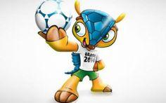Brasil 2014 tendrá un armadillo como mascota