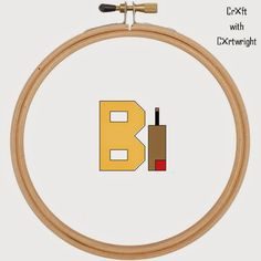 Craft with Ruth Cartwright: Free B is for bat and ball alphabet cross stitch pattern