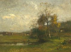 Another John Francis Murphy Autumn Afternoon Near Arkville (Oil on canvas, 12 x 16 inches)  ============== Click for more information