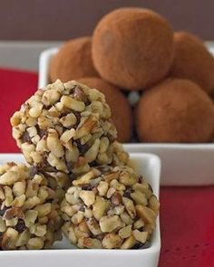 Ghirardelli Dark Chocolate Truffles - Dark and rich, these truffles are perfect for any holiday party.