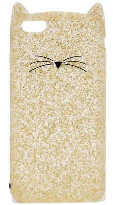 Glitter Cat iPhone 6 Plus / 6s Plus Case