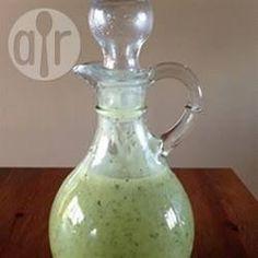 Basil vinaigrette @ allrecipes.co.uk