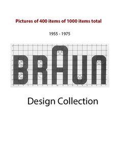 Die private Braun Design Collection mit insgesamt fast 1.000 Stücken zeigt einen Querschnitt der Braun Designgeschichte. Graphisches Design, Logo Design, Interior Design, Brand Inspiration, Graphic Design Inspiration, Dieter Rams Design, Braun Design, Radios, Building Design