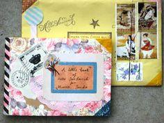 Envelope art mail art awesomeness
