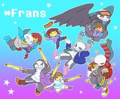 I am three days behind… Undertale Game, Frans Undertale, Anime Undertale, Undertale Drawings, Alien Drawings, Cute Drawings, Chibi, Sans X Frisk Comic, Wings Drawing
