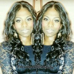"""Happy customer wearing her virgin brazilian bodywave 22"""" 20"""" 18"""" with 14"""" closure from www.famoushairddb.com weave and closure installed by Diamond Dolls Beauty www.diamonddollsbeauty.co.uk Sew In With Closure, Full Sew In, Hair Care Tips, Bad Hair Day, Virgin Hair, Weave Hairstyles, Hair Looks, Looks Great, Short Hair Styles"""