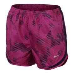 Pantalones cortos Nike Printed Tempo Short magenta mujer 29.75€ en #deporvillage #nike #running #womensrun