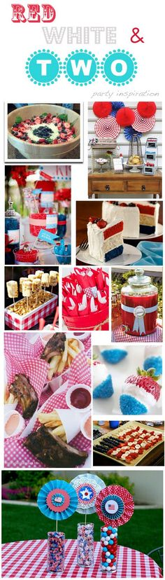 Armelle Blog: red, white, and two! ...