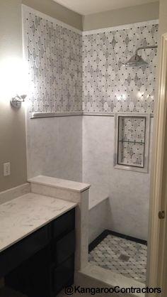 bathroom remodel in dallas tx tile work new tile mosaic tile modern bathroom tile