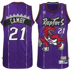 8109bfb886f Marcus Camby Toronto Raptors adidas Hardwood Classic Swingman Jersey -  Purple