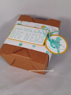 Klompen Stampers (Stampin' Up! Demonstrator Jackie Bolhuis): Get Your TAKEOUT Boxes....