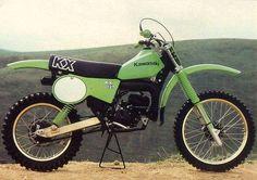 1979- Kawasaki KX125A7