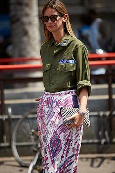 Неделя моды в Милане, весна-лето 2017: street style. Часть 1 (фото 5)