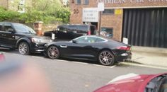#DavidGandy, Gandy Jaguar, today in London. ❤️