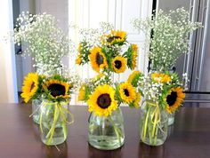 Things I'm Loving Friday – Peanut Butter Fingers First Birthday Party Flowers Sunflower Birthday Parties, Sunshine Birthday Parties, Sunflower Party, Sunflower Baby Showers, First Birthday Parties, Sunflower Wedding Favors, 18th Birthday Party Themes, Birthday Ideas, Sunflower Centerpieces