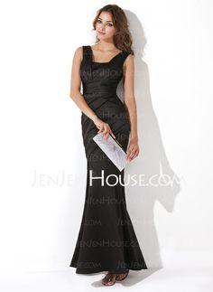Evening Dresses - $116.99 - Mermaid Sweetheart Floor-Length Satin Evening Dresses With Ruffle (017013724) http://jenjenhouse.com/Mermaid-Sweetheart-Floor-length-Satin-Evening-Dresses-With-Ruffle-017013724-g13724