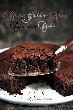 A Very Rich Italian Chocolate Cake