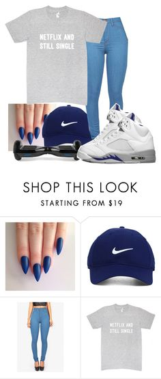 """Untitled #245"" by madifly ❤ liked on Polyvore featuring Nike Golf and Retrò"
