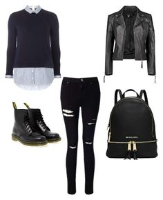 """""""Simple"""" by demi-tessa on Polyvore featuring mode, Miss Selfridge, Dr. Martens, Boohoo en Dorothy Perkins"""