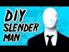 Slenderman DIY costume