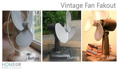 Vintage Fan Fake-out | Home Made by Carmona