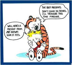 Bill Watterson Calvin and Hobbes birthday present