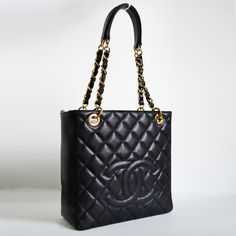 Chanel Black Caviar Petite Timeless Tote PTT Bag