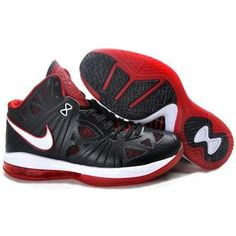 release date a6dbf 832ab Nike LeBron 8 PS Playoff Pack BlackWhiteRed Sport Black White Red,