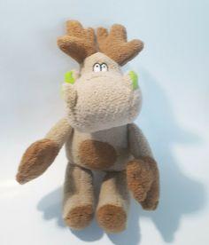 reindeer plushy stuffed animal, used in VGC #Unbranded Plushies, Reindeer, Animals, Ebay, Animales, Animaux, Stuffed Animals, Animal, Animais