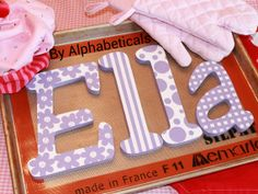 I love the a! :)