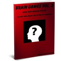 Brain Games Vol. 2 (Kindle Edition)  http://www.rereq.com/prod.php?p=B007PWFZGA  B007PWFZGA