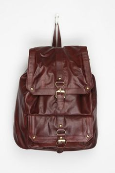 BDG Classic Leather Backpack Online Only