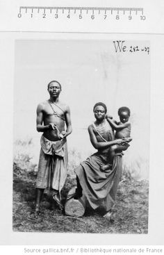 Kassaï Family, Belgium Congo (D.R.C.) 1928.