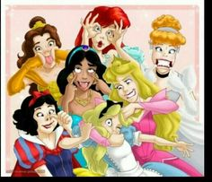 #disney Funny princesses