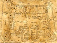 hogwarts inside map - Google-søgning