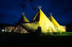 Choose our Three Giant Tipis Set Up for big weddings and parties, accommodation up to 160 seated guests or 210 standing. For more information visit our website Tipi Wedding, I Party, Wedding Inspiration, Parties, Weddings, Website, Night, Travel, Teepees
