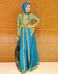 Model Kebaya Gamis Simple