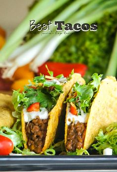 Beef Tacos with Asian Flare @SECooking | Sandra