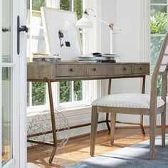 Universal Furniture Writing Desk Console | From Hayneedle.com