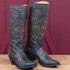 Johnny Ringo Ladies' Studded Back Zip Boots 419.95