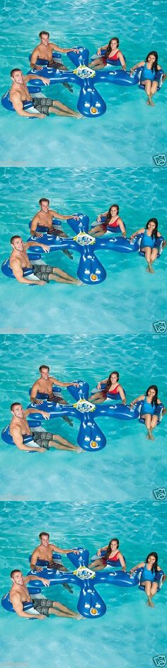 Inflatable Floats and Tubes 79801: Ahhqua Bar Pool Lounge Party Inflatable Float 4 Adoult Seats Toy 1017003 New -> BUY IT NOW ONLY: $61.86 on eBay!