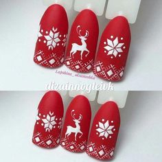 Here is a tutorial for an interesting Christmas nail art Silver glitter on a white background – a very elegant idea to welcome Christmas with style Decoration in a light garland for your Christmas nails Materials and tools needed: base… Continue Reading → Xmas Nail Art, Cute Christmas Nails, Christmas Manicure, Christmas Nail Art Designs, Holiday Nail Art, Xmas Nails, Winter Nail Art, Winter Nails, Christmas Christmas