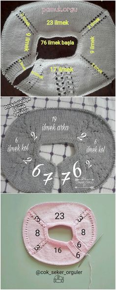 Knitting Baby Vest Robe Models and Constructions Baby Sweater Knitting Pattern, Baby Boy Knitting, Knitting Patterns, Fashion Sewing, Kids Fashion, Crochet Baby, Knit Crochet, Crochet Curtains, Viking Tattoo Design