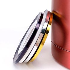 LCJ New Arrive 2mm 4 Colors Popular Nail Striping Tape Line For Nails Decorations Diy Nail Art Self-Adhesive Decal Tools