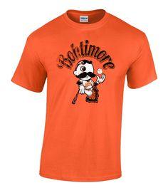 Photo Credit: Natty Boh Gear© Bohtimore Baseball Shirt $18.99 Orioles and Natty Boh Fans at 208 York Rd. Towson, MD 21204