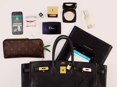 {in my handbag | the editors of vogue australia during fashion week}