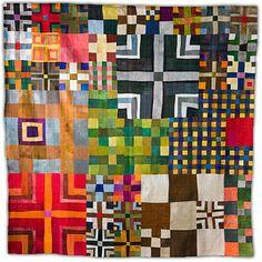 9. Nine Patch Art Quilt