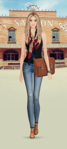 Covet Fashion Game -Challenge -Western
